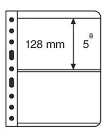Лист для банкнот VARIO, 2 ячейки, прозрачный фото