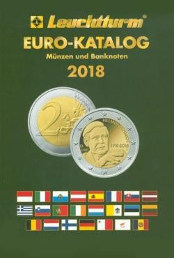 Евро каталог банкнот и монет на 2018 г. фото