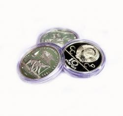 Капсулы для монет 39 мм под 3 рубля серебро России фото