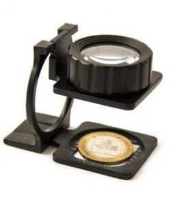 Лупа для монет, настольная, 20 кратное увеличение фото