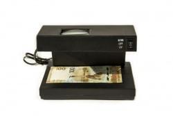 УФ-лампа детектор для банкнот, с увеличительным стеклом фото