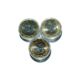 Капсулы для монет (10 шт.) фото