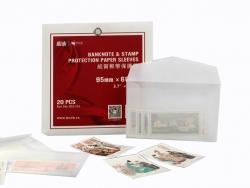 Конверты для хранения марок и банкнот (бумажные)  фото