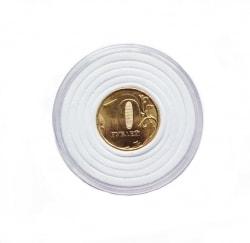 Универсальные капсулы со вставками от 16 до 40 мм (белые) фото
