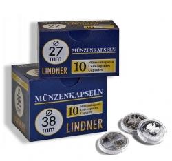 Капсулы для монет Lindner фото