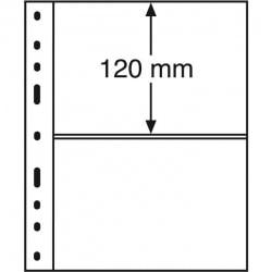 Лист для банкнот OPTIMA, 2 ячейка, прозрачный фото