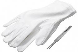 Нумизматический набор, перчатки+пинцет фото