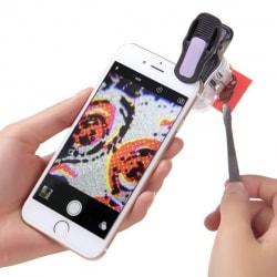 Лупа для камеры телефона фото