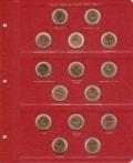 альбом для монет Красная книга