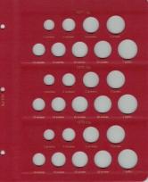 Альбом для монет СССР регулярного чекана 1961-1991 гг. / страница 6 фото