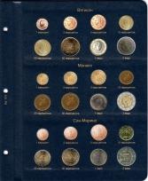 Альбом для монет стран Евросоюза регулярного чекана / страница 8 фото