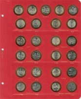 Альбом для юбилейных и памятных монет России  / страница 3 фото