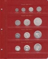 Альбом для монет России по типам с 1796 года / страница 5 фото