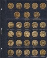 Альбом для юбилейных монет Польши 2 злотых / страница 8 фото