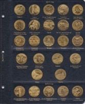 Альбом для юбилейных монет Польши 2 злотых / страница 9 фото