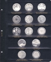 Альбом для памятных и регулярных монет ФРГ / страница 6 фото