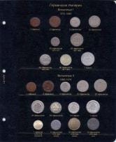 Альбом для регулярных монет Германии / страница 1 фото
