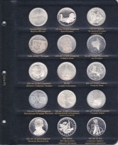 Альбом для юбилейных монет ФРГ / страница 4 фото
