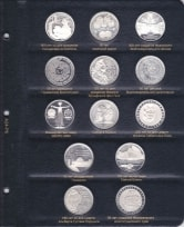 Альбом для юбилейных монет ФРГ / страница 5 фото