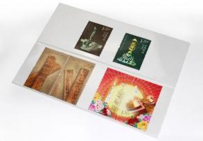Карточки-кулисы для марок, прозрачные / страница 1 фото