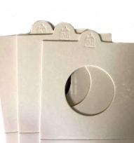 Холдеры для монет самоклеющиеся (цвет белый) / страница 2 фото