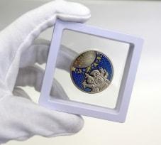 Футляр для монет с подставкой(70х70 мм.) / страница 3 фото