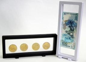 Дисплей для монет с подставкой(230х90 мм.) / страница 3 фото