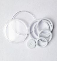 Универсальные капсулы со вставками от 16 до 40 мм (белые) / страница 3 фото
