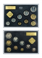 Годовой набор монет СССР 1979 год, ЛМД (9 монет и 2 жетона) / страница 1 фото