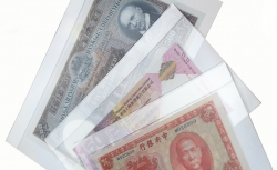 Холдер для хранения банкнот, прозрачный (конверт) фото