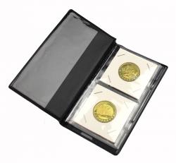 Карманный альбом для 12 монет в холдерах фото