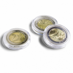 Капсулы для монет 26 мм под 2 евро фото