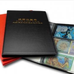 Альбом для банкнот (20 прозрачных двусторонних листов с 3 ячейками) фото
