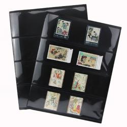 Лист для банкнот и марок PCCB двусторонний, с чёрной основой фото