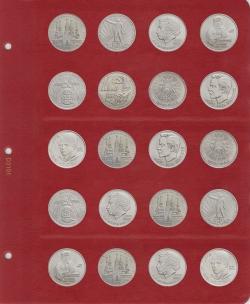 Универсальный лист для монет диаметром 31 мм (1 рубль СССР) фото