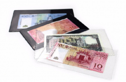 Холдер для хранения банкнот (прозрачный) фото