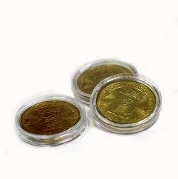 Капсулы для монет 22 мм под 10 рублей (гальваника) фото