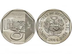 Монета 1 соль 2014 год Караль, UNC фото