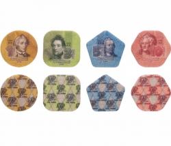 Набор регулярных монет Приднестровья 2014 год (пластик, 4 монеты) фото