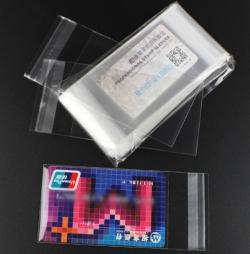 Пакеты для хранения пластиковых карт самоклеющиеся фото