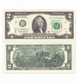 2 доллара США 2017 год фото