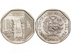 Монета 1 соль 2013 год Тунанмарка, UNC фото