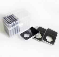 Бокс для хранения 10 монет в слабах, прозрачный (PCCB) фото