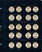 Альбом для юбилейных монет США 1 доллар (по монетным дворам) / страница 3 фото