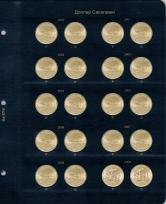 Альбом для юбилейных монет США 1 доллар (по монетным дворам) / страница 6 фото