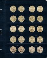 Альбом для юбилейных монет США 1 доллар (по монетным дворам) / страница 7 фото