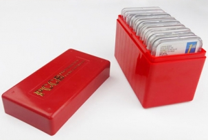 Бокс для хранения 10 монет в слабах (PCCB) / страница 1 фото