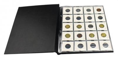 Альбом для 200 монет в холдерах / страница 7 фото