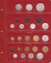 Альбом для монет РСФСР и СССР регулярного чекана 1921-1957 гг. / страница 2 фото