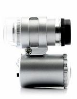 Микроскоп для монет, с подсветкой 45х/60х, стереоскопический / страница 1 фото
